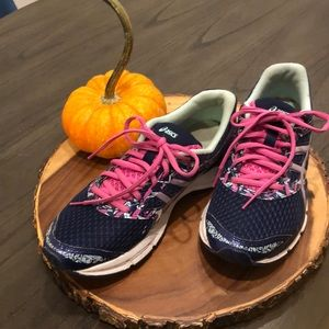 ASICS Navy Running Sneakers